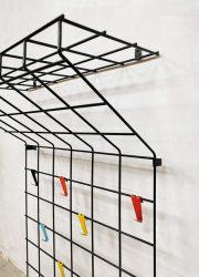 vintage kapstok toonladder coat rack design Pilastro Coen de Vries Stijl Nisse String