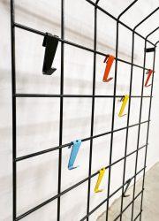 vintage kapstok toonladder coat rack design Pilastro Coen de Vries Stijl Nisse String style