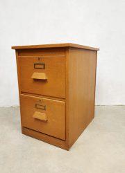 vintage archiefkast ladekast filing cabinet Eeka