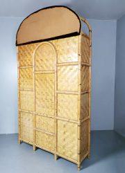 midcentury bamboe cabinet design bamboo etagere