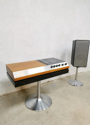 midcentury design Wega 3200 music player