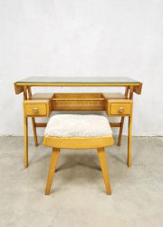 midcentury vanity table dressing table bureau desk