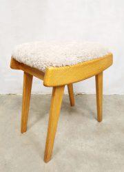 light wood vintage desk bureau kaptafel dressing table