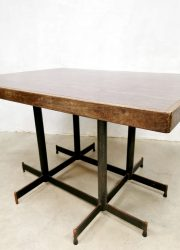 vintage industrial dining table b