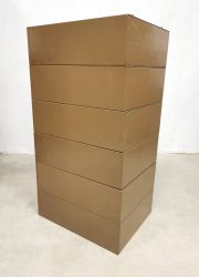 Cabinet filing industrieel archief ladekast industrial chest of drawers