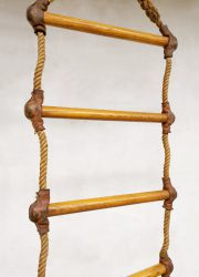 vintage touwladder antiek rope gym antic