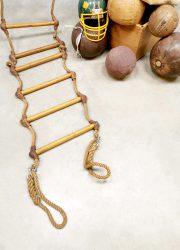 vintage touwladder industrial rope ladder