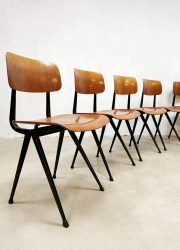 Dutch design school chairs schoolstoelen