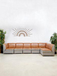 Modular vintage sofa modulaire elementen bank 'two tone' IKEA 1970