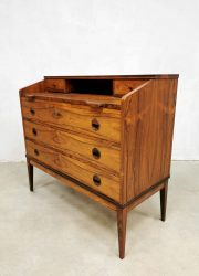 rosewood cabinet chest of drawers secretaire