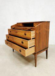 midcentury Borge Hansen Riis-Antonsen palissander secretaire ladekast rosewood cabinet desk chest of drawers