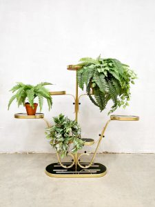vintage plant stand plantenstandaard sixties