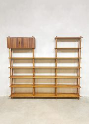 Willen Lutjens stokkekast vintage design room divider