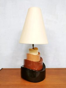 Table lamp tafellamp lamp vintage Frans design seventies