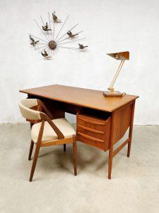 Midcentury Danish design desk Deens design bureau Tibergaard