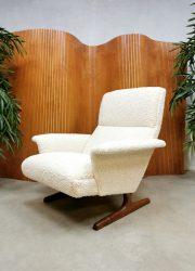 Midcentury vintage design Danish armchair Deense lounge fauteuil 'Teddy'