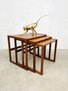 Midcentury design nesting tables mimiset bijzettafels G-plan