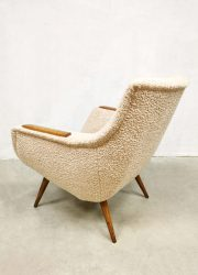 Vintage design fifties armchair easy chairs sixties
