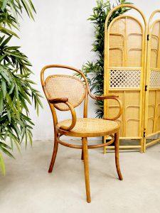 Rare vintage Thonet chair lounge stoel design