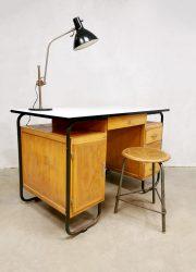 Industrial desk writing bureau industrieel