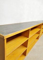 sixties school cabinet sideboard school kast