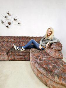 Vintage modular sofa modulaire elementen bank 'Soho Boho'