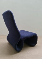Olivier Mourgue vintage sculptural Space Age fauteuil lounge chair