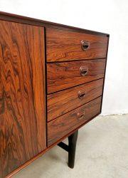 rosewood midcentury dressoir sideboard Fristho