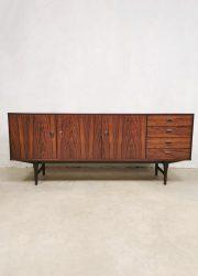 Fristho Dutch design sideboard rosewood palissander credenza
