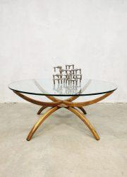 midcentury design spider leg coffee table salontafel