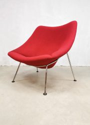 vintage Oyster easy chair lounge fauteuil Artifort Pierre Paulin F157