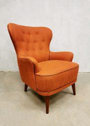 vintage design lounge stoel fauteuil chair Artifort jaren 50 fifties