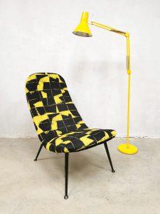 Industrial vintage floorlamp industriële vloerlamp 'Hello yellow'