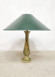 Italian onyx table lamp marmeren tafellamp