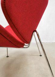 Artifort Oranje Slice easy lounge chairs Pierre Paulin F437