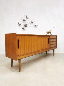 Vintage teak sideboard dressoir wandkast 'Minimalism'