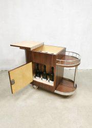 trolley liquor cabinet drankenkast cocktail serveerwagen