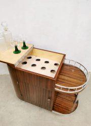 cabinet trolley drankenkast cocktail bar serveerwagen