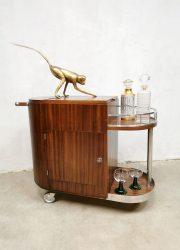 vintage trolley cabinet drankenkast cocktail bar