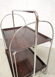 liquor cabinet trolley serveerwagen vintage design
