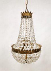 vintage chandelier kroonluchter antique vintage gold gilded