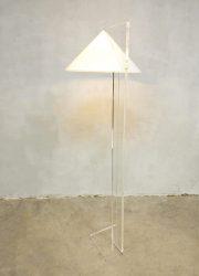 Harco loor floor lamp plexiglas perspec design vloerlamp
