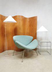 Dutch design vintage Plexiglass Perspex floor lamp vloerlamp Harco Loor