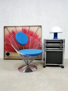 Design trolley rolcontainer office furniture Fritz Haller & Paul Schärer USM Haller