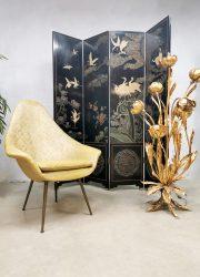 Italian design easy chair baroque dessin