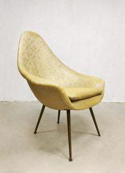 vintage lounge fauteuil Italiaans design