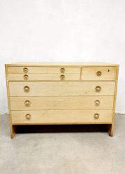 Hans Wegner Ry series light oak cabinet chest of drawers