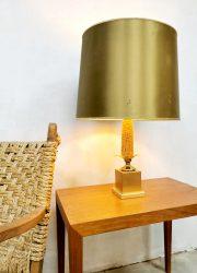 Vintage design corn cob table lamp maiskolf tafellamp Maison le Dauphin