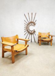Spanish chair Borge Mogensen safari stoel