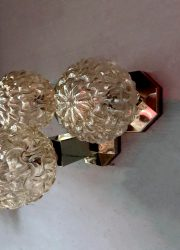 Staff vintage wall lamp sxities seventies design